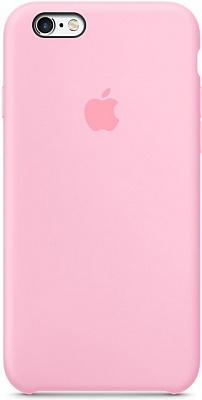 Apple iPhone 6s Silicone Case - Light Pink MM622 - ITMag