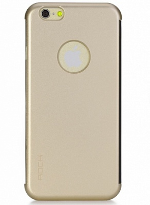 "Чехол (книжка) Rock DR.V Series для Apple iPhone 6 Plus/6S Plus (5.5"") (Золотой / Gold) - ITMag"