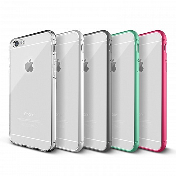 Verus Crystal Mixx Bumber case for iPhone 6/6S (White) - ITMag