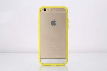 "TPU+PC чехол Rock Enchanting Series для Apple iPhone 6 Plus/6S Plus (5.5"") (Желтый / Yellow) - ITMag"