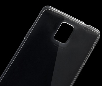 TPU чехол ROCK Slim Jacket для Samsung N910H Galaxy Note 4 (Прозрачный / Transparent) - ITMag