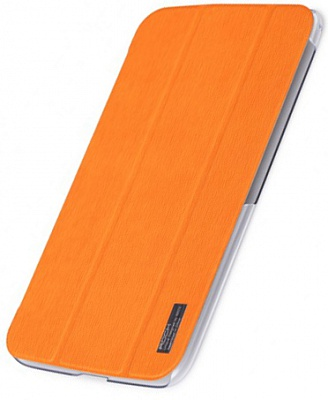 Чехол (книжка) Rock Elegant Series для Samsung Galaxy Tab 3 8.0 T3100/T3110 (Оранжевый / Orange) - ITMag