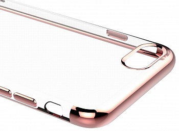 Чехол Baseus Shining Case (TPU) For iphone7 Rose Gold (ARAPIPH7-MD0R) - ITMag