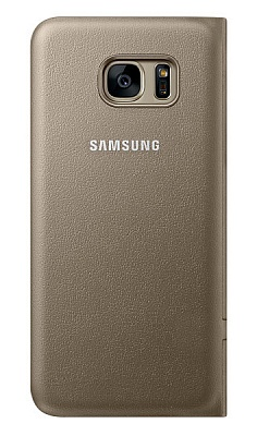 Samsung LED View Galaxy S7 Edge Gold (EF-NG935PFEGRU) - ITMag