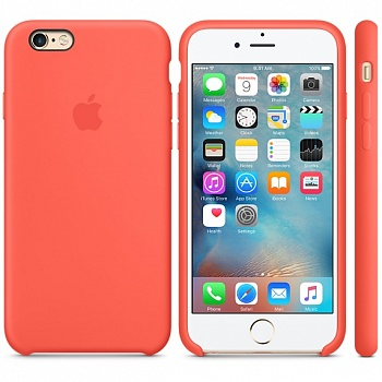 Apple iPhone 6s Silicone Case - Apricot MM642 - ITMag