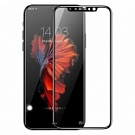 Защитное стекло Baseus Silk-screen 3D Arc Protective Film для iPhone X Black (SGAPIPHX-A3D01) - ITMag