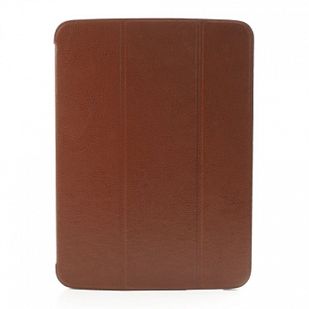 Чехол Crazy Horse Tri-fold Leather Folio Cover Stand Brown for Samsung Galaxy Tab 3 10.1 P5200/P5210 - ITMag