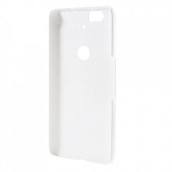 Чехол EGGO Rubberized Plastic для Huawei Nexus 6P (Белый/White) - ITMag