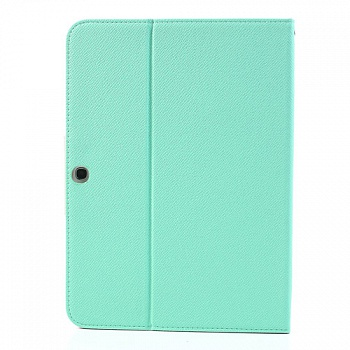 Чехол EGGO двухцветный Leather Stand Case for Samsung Galaxy Tab 3 10.1 P5200/P5210 (Pink / Cyan) - ITMag