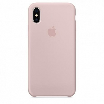 Apple iPhone X Silicone Case - Pink Sand (MQT62) - ITMag