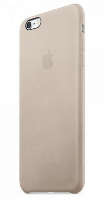 Apple iPhone 6s Plus Leather Case - Rose Gray MKXE2 - ITMag