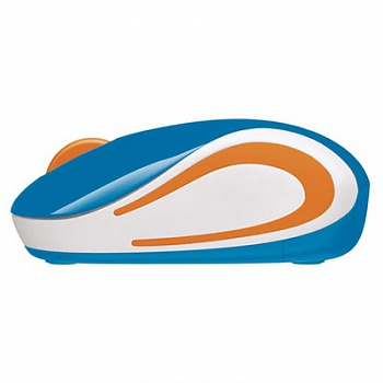 Logitech M187 Wireless Mini Mouse Blue - ITMag