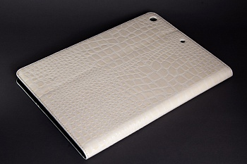Чехол EGGO Crocodile для iPad Air (Белый) - ITMag