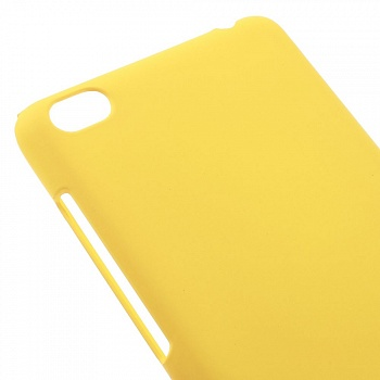 Чехол EGGO Rubberized Plastic для Xiaomi Redmi 3 (Желтый/Yellow) - ITMag