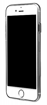 Чехол Baseus Simple Series Case (Clear) For iPhone7 Transparent Black (ARAPIPH7-B01) - ITMag