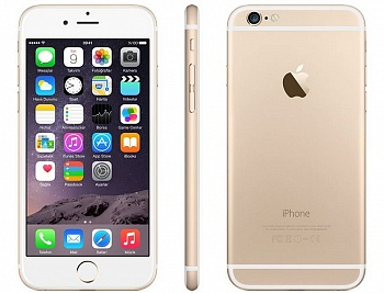 Apple iPhone 6 Plus 128GB Gold (Factory Refurbished) - ITMag