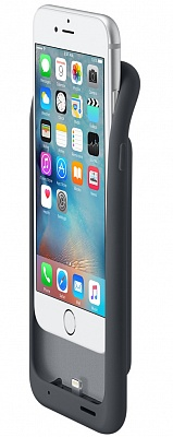 Apple iPhone 6s Smart Battery Case - Charcoal Gray MGQL2 - ITMag