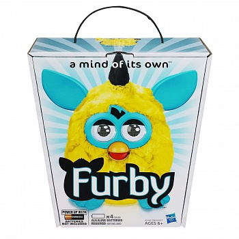 Игрушка Furby Plush, Yellow/Teal - ITMag