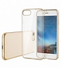 "TPU чехол ROCK Slim Jacket для Apple iPhone 7 (4.7"") (Золотой / Transparent Gold) - ITMag"