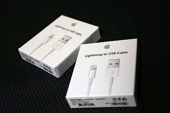 Кабель Lightning для iPhone 5/5C/5S/6/6 Plus iPad 4/5/Mini/Mini Retina High Copy (MD818) - ITMag