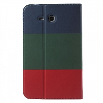 Чехол EGGO для Samsung Galaxy Tab 3 Lite T116 (Dark Blue / Green / Red) - ITMag