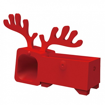 Ozaki O!music Zoo Deer Red for iPhone 5 (OM936DB) - ITMag