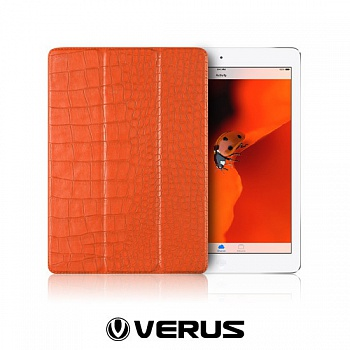 Чехол Verus Crocodile Leather Case for iPad  Air (Orange) - ITMag