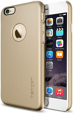 "Чехол SGP Case Thin Fit A Series Champagne Gold for iPhone 6/6S (4.7"") (SGP10943) - ITMag"