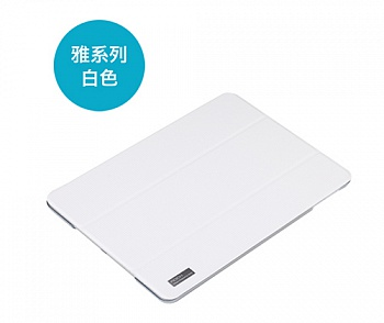 Чехол (книжка) Rock Elegant Series для Apple IPAD AIR (Белый / White) - ITMag