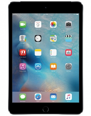 Apple iPad mini 4 Wi-Fi + Cellular 128GB Space Gray (MK8D2, MK762) UA UCRF - ITMag