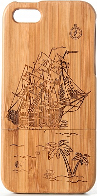 Чехол JUSNEY Bamboo Case для iPhone 5/5S Vessel - ITMag