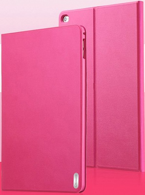 Чехол USAMS Geek Series for iPad Air 2 Magnetic Stand Smart Leather Cover - Rose - ITMag