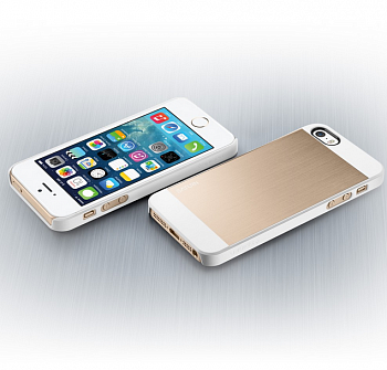 Чехол-накладка SGP Case Saturn Champagne Gold for iPhone 5/5S (SGP10570) - ITMag