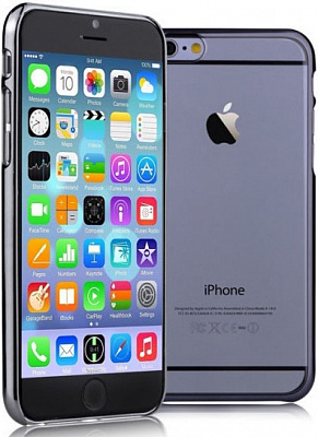 Чехол Devia для iPhone 6/6S Glimmer Gun Black - ITMag
