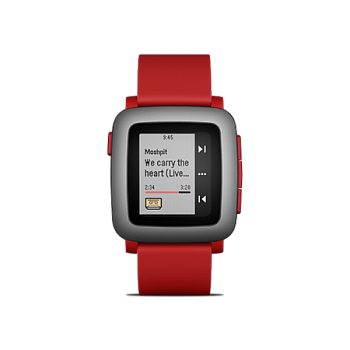 Pebble Time Red - ITMag