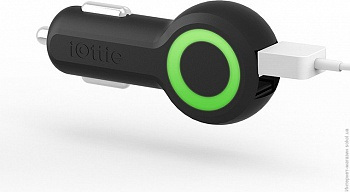 iOttie Rapid Volt Dual Port USB Car Charger Black (CHCRIO101BK) - ITMag