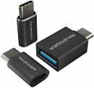 RAVPower USB C Adapter [3 in 1 Pack] USB C to Micro USB, USB C to USB 3.0 Adapter, Data Transfer (RP-PC007) - ITMag