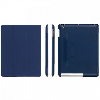 Чехол Griffin IntelliCase for iPad 2, iPad 3, & iPad (4th gen.) Blue - ITMag