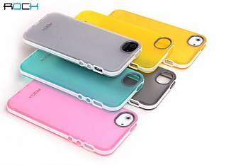Чехол ROCK Joyful Free Series для Iphone 5/5S (желтый) - ITMag