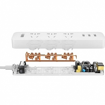 Xiaomi Mi Power Strip White - ITMag