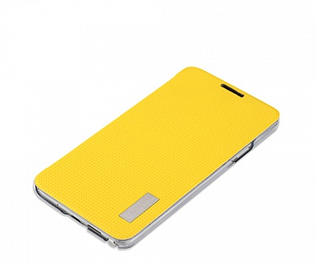 Чехол (книжка) Rock Elegant Series для Samsung N750 Galaxy Note 3 Neo (Желтый / Yellow) - ITMag