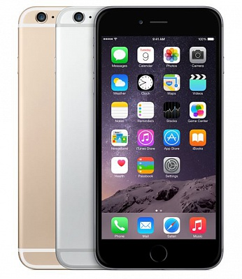 Apple iPhone 6 Plus 64GB Silver UA UCRF - ITMag