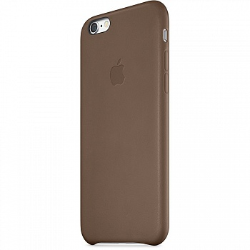 Apple iPhone 6 Leather Case - Olive Brown MGR22 - ITMag