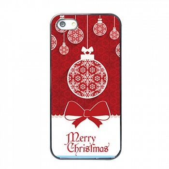 TPU чехол EGGO для iPhone 5/5S - Merry Christmas - ITMag