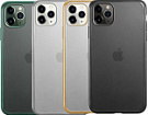 j-CASE TPU Fashion Chaser matte for iPhone 12/iPhone 12 Pro - Gold - ITMag
