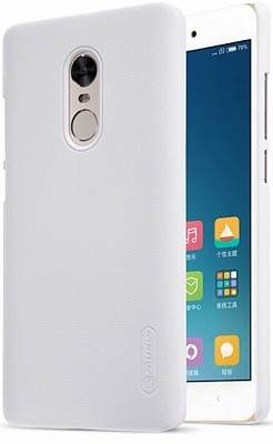 Чехол Nillkin Matte для Xiaomi Redmi Note 4X (+ пленка) (Белый) - ITMag
