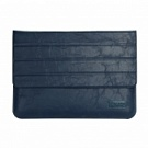 Чехол OATSBASF Genuine Leather для Macbook Air/Pro 13.3 (Blue/Синий) - ITMag