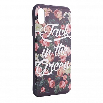 "TPU чехол OMEVE Pictures для Apple iPhone X (5.8"") (Jack in the green) - ITMag"