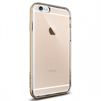 "Чехол SGP Case Neo Hybrid EX Crystal Series Champagne Gold for iPhone 6/6S 4.7"" (SGP11624) - ITMag"