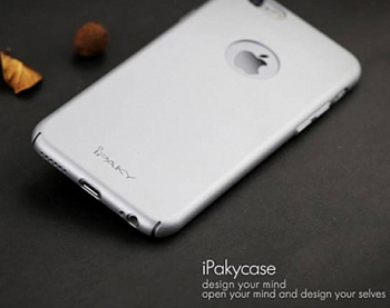 "Чехол iPaky Metal Plating Series для Apple iPhone 6/6s (4.7"") (Серебряный) - ITMag"